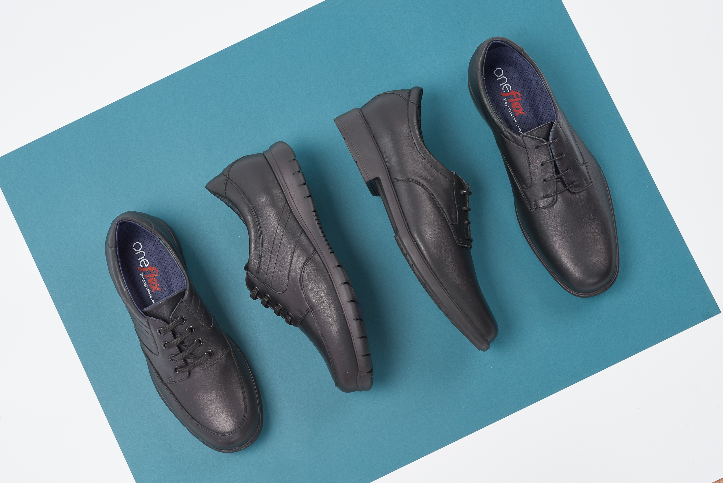 Shoes for corporate and uniformed professionals